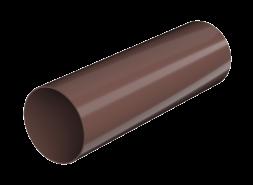 ТН ПВХ D125/82 мм труба (3 м), коричневая