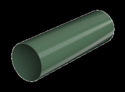 ТН ПВХ D125/82 мм труба (3 м), зеленая