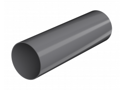 ТН ПВХ D125/82 мм труба (3 м), серая