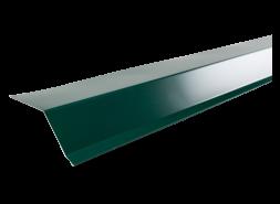Планка карнизная полиэстер RAL 6005 зеленая, шт.
