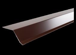 Планка карнизная полиэстер RAL 8017 коричневая, шт.