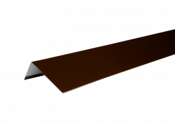 ТЕХНОНИКОЛЬ HAUBERK наличник оконный металлический, полиэстер, RAL 8017 коричневый, шт.