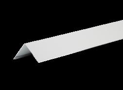 ТЕХНОНИКОЛЬ HAUBERK уголок металлический внешний, полиэстер, RAL 7004 серый, шт.