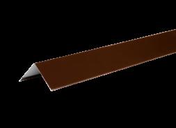ТЕХНОНИКОЛЬ HAUBERK уголок металлический внешний, полиэстер, RAL 8017 коричневый, шт.