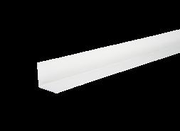 ТЕХНОНИКОЛЬ HAUBERK уголок металлический внутренний, полиэстер, RAL 7004 серый, шт.