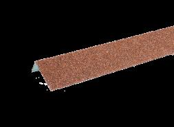 ТЕХНОНИКОЛЬ HAUBERK наличник оконный металлический, красный