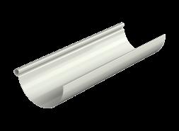 ТН МВС, желоб водосточный 125 мм, 3 п.м, белый