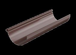 ТН МВС, желоб водосточный 125 мм, 3 п.м, коричневый