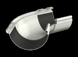 ТН МВС, угол желоба внешний 135°, белый