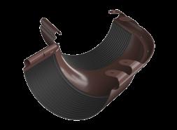 ТН МВС, угол желоба внешний 135°, коричневый