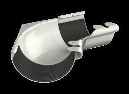 ТН МВС, угол желоба внутренний 135°, белый
