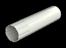 ТН МВС, труба d 90 мм, 1 м.п., белая