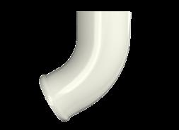ТН МВС, отвод трубы, белый