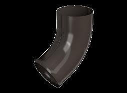 ТН МВС, отвод трубы, коричневый