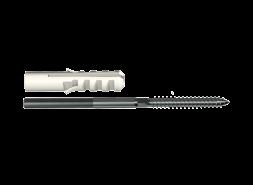 ТН МВС, крепление хомута с дюбелем 140 мм