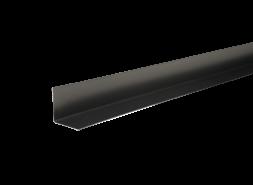 ТЕХНОНИКОЛЬ HAUBERK уголок металлический внутренний, полиэстер, RAL 7024 темно-серый, шт.