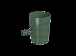 ТН ПВХ D125/82 мм Отвод для сбора воды, зеленый