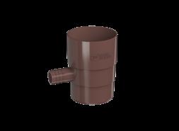 ТН ПВХ D125/82 мм Отвод для сбора воды, коричневый