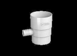 ТН ПВХ D125/82 мм Отвод для сбора воды, белый