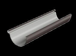 ТН ПВХ МАКСИ желоб 3м, коричневый