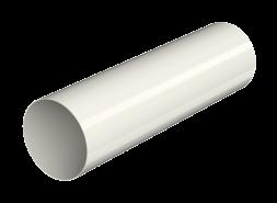 ТН ПВХ МАКСИ труба 1м, белая