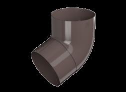 ТН ПВХ МАКСИ колено трубы 67°, коричневое