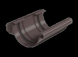ТН ПВХ МАКСИ соединитель желоба, коричневый