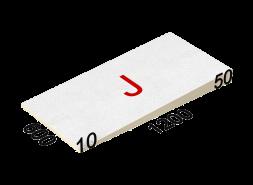 LOGICPIR SLOPE-3,4% (J) СХМ/СХМ Г4 1200х600х10-50 (144 плиты, 8 пачек, 103,68 кв.м.)