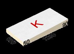 LOGICPIR SLOPE-3,4% (K) СХМ/СХМ Г4 1200х600х50-90 (64 плиты, 8 пачек, 46,08 кв.м.)
