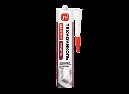 Герметик ТЕХНОНИКОЛЬ универсальный нейтральный силиконовый, белый, 280 мл.