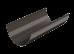 ТН ПВХ D125/82 мм желоб (1,5 м), темно-коричневый