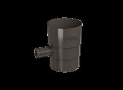 ТН ПВХ D125/82 мм Отвод для сбора воды, темно-коричневый