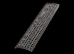 ТН ПВХ D125/82 мм решетка желоба защитная 0,6м, темно-коричневая