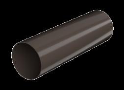 ТН ПВХ D125/82 мм труба (3 м), темно-коричневая