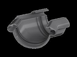 ТН ПВХ МАКСИ угол желоба 135°, графитово-серый