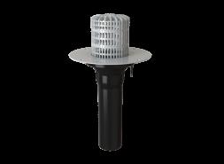 Воронка для ПВХ мембран XL503 с обогревом Ø110х450мм (В14), шт