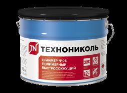 Праймер полимерный ТЕХНОНИКОЛЬ №08 Быстросохнущий, ведро 7 кг