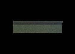 Коньки-карнизы SHINGLAS Зеленый микс 253х1003 мм (20 гонтов, 20 пог.м, 5 кв.м)