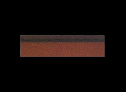 Коньки-карнизы SHINGLAS Красный микс 253х1003 мм (20 гонтов, 20 пог.м, 5 кв.м)