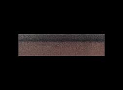 Коньки-карнизы SHINGLAS Коричневый экстра 253х1003 мм (20 гонтов, 20 пог.м, 5 кв.м)
