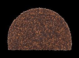 Заглушка конька полукруглого LUXARD Пробка, 95х148 мм, (радиус 74 мм)