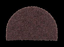 Заглушка конька полукруглого LUXARD Мокко, 95х148 мм, (радиус 74 мм)