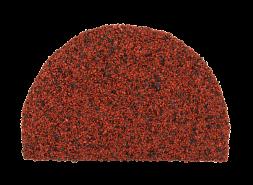 Заглушка конька полукруглого LUXARD Бордо, 95х148 мм, (радиус 74 мм)