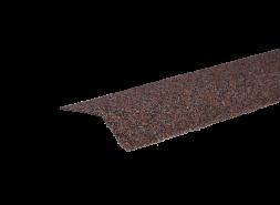Планка карнизная с гранулятом, красно-коричневый, шт.