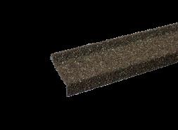 Планка примыкания с гранулятом, коричнево-зеленый, шт.