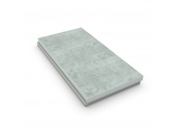 Панель Ц-XPS CARBON 1180Х580Х110-L (34 плиты, 23,2696 м2) с полимер-цементной стяжкой