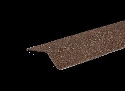 Планка карнизная с гранулятом, бронзовый, шт.