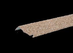 Планка примыкания с гранулятом, латунный, шт.
