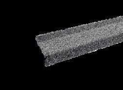 Планка примыкания с гранулятом, стальной, шт.