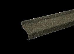 Планка примыкания с гранулятом, оливковый, шт.